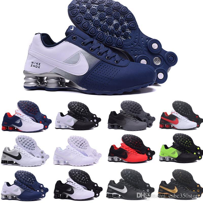pas mal c8a79 09fc8 Nike TN Plus shox air max airmax Shox Deliver 809 Men Air Running Shoes  Drop Shipping Venta al por mayor Famoso DELIVER OZ NZ Zapatillas deportivas  ...