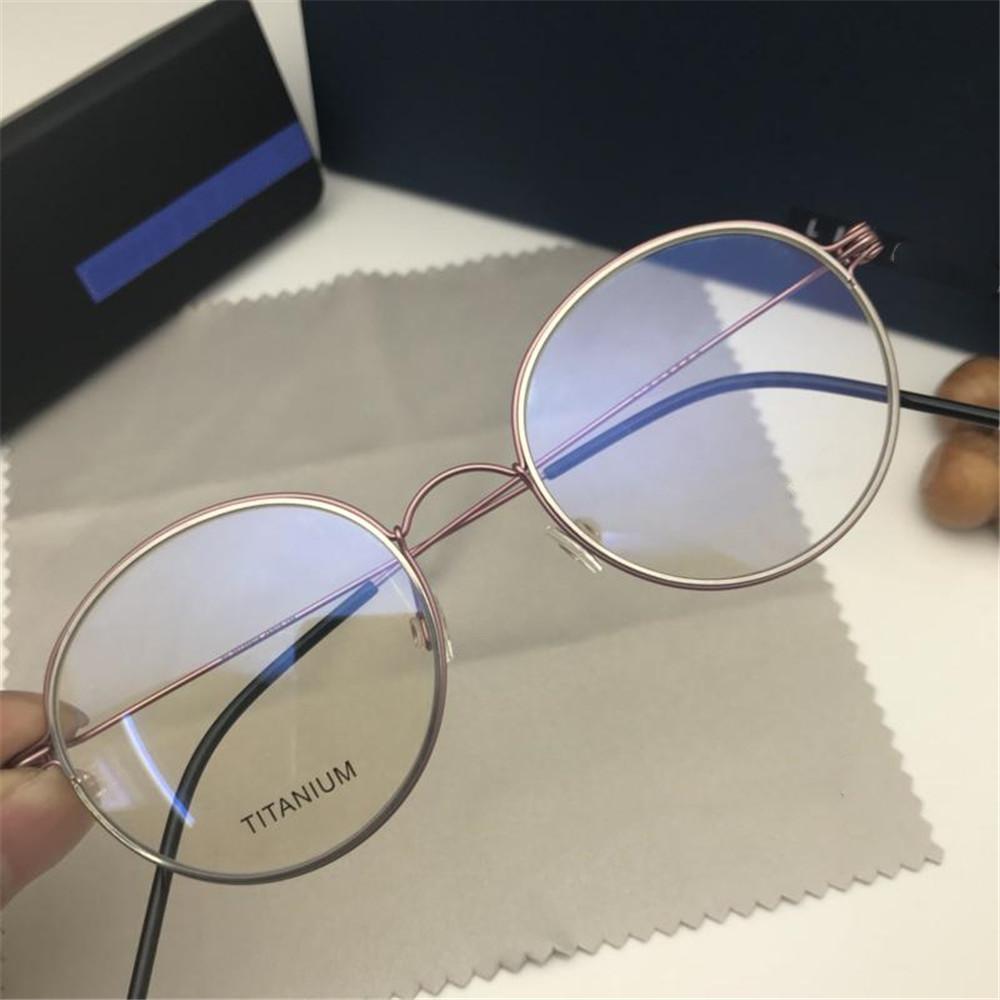 1d73958611 2019 Classic Brand Oval Eyeglasses Luxury Brand Designer Full Frame ...