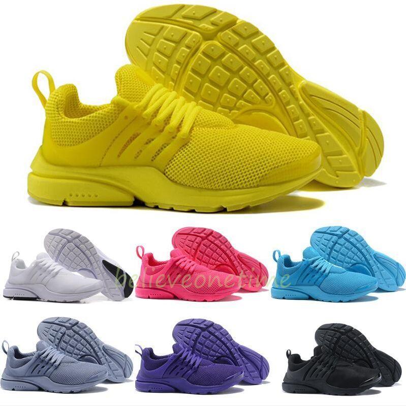 aa12c5583e66 2019 Best PRESTO 5 BR QS Men Women Jogging Shoes Oreo Yellow Violet Balck  Pink Running Shoes Prestos Designer Walking Sneakers 36 46 From  Believeonetime, ...