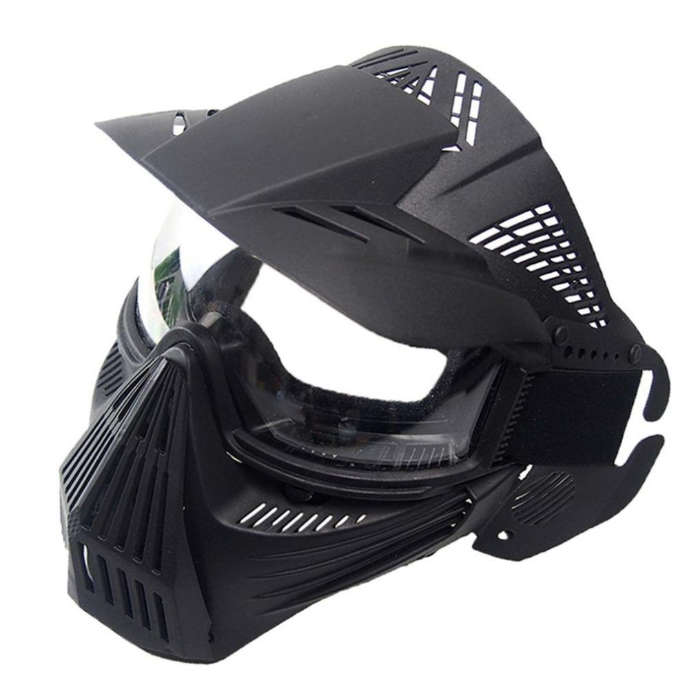 Lightweight Breathable CS Outdoor Tactical PC Lens Mask CS Paintball Mask Outdoor Party Protective