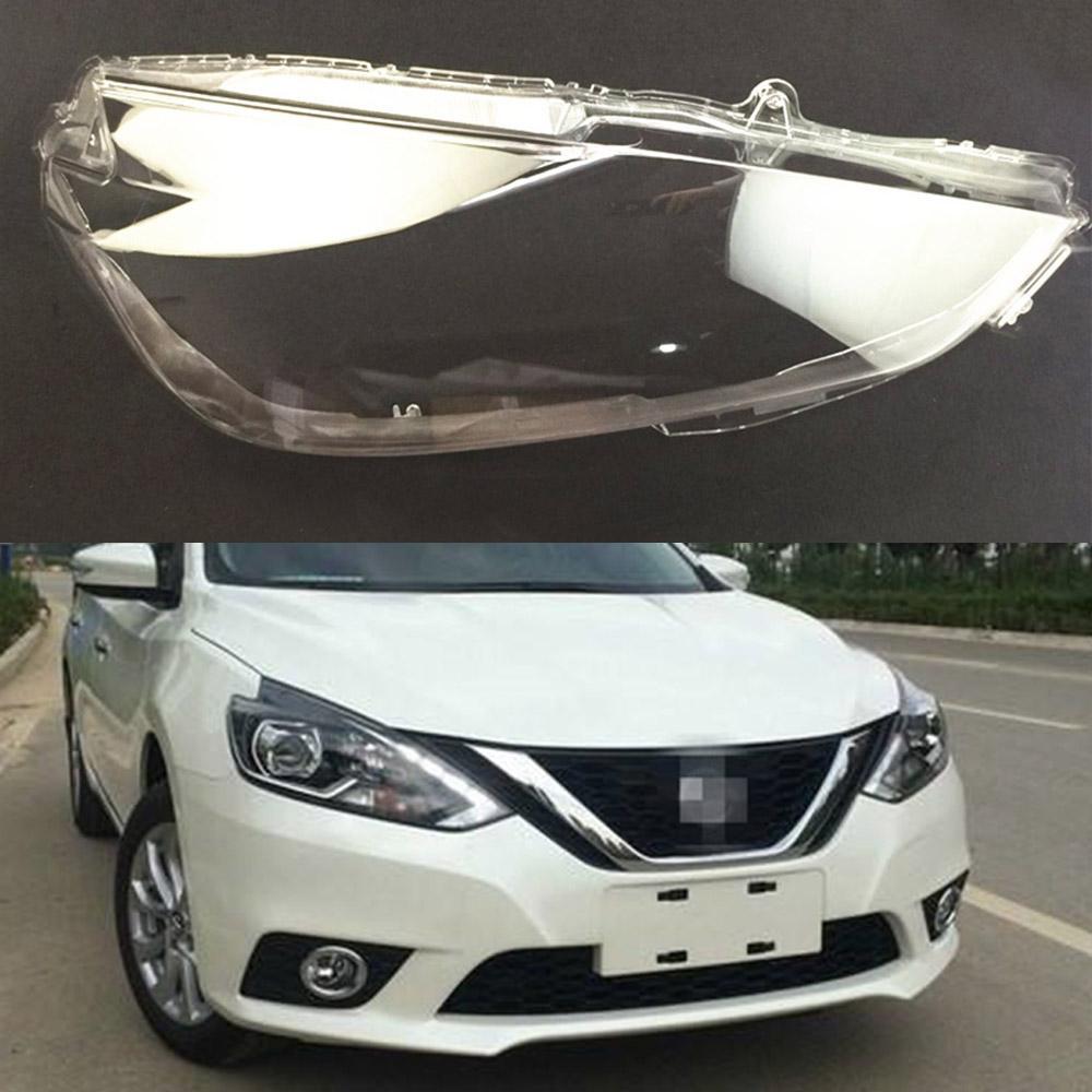 2019 For Nissan Sylphy 2016 2017 2018 Transparent Car Headlight
