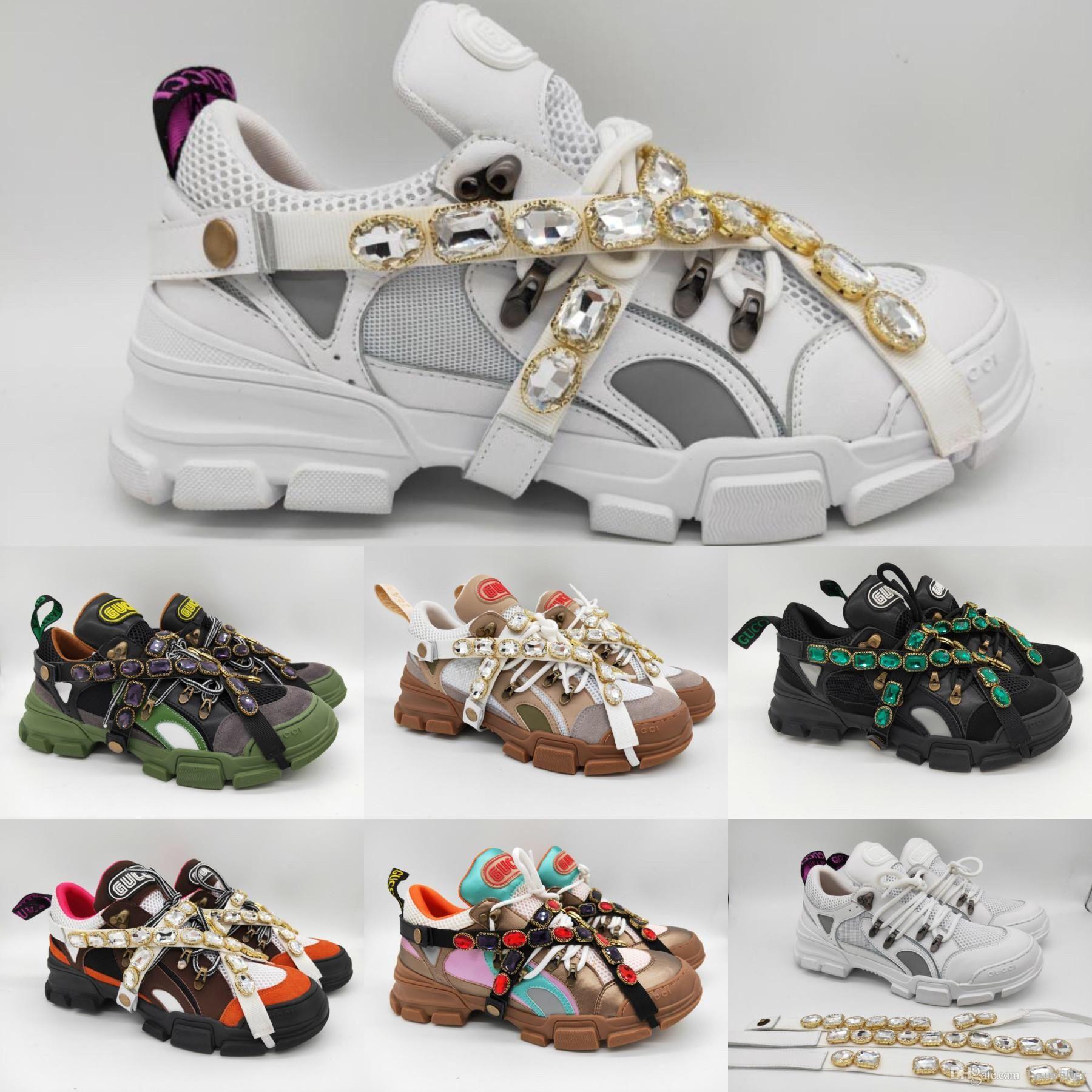 Flashtrek Box Womens Brand Abnehmbaren Schuhe Bergsteigen Kristallen Sneaker Outdoor Wanderschuhe Mit Designer Luxury Sneakers Mens QdWxerBECo