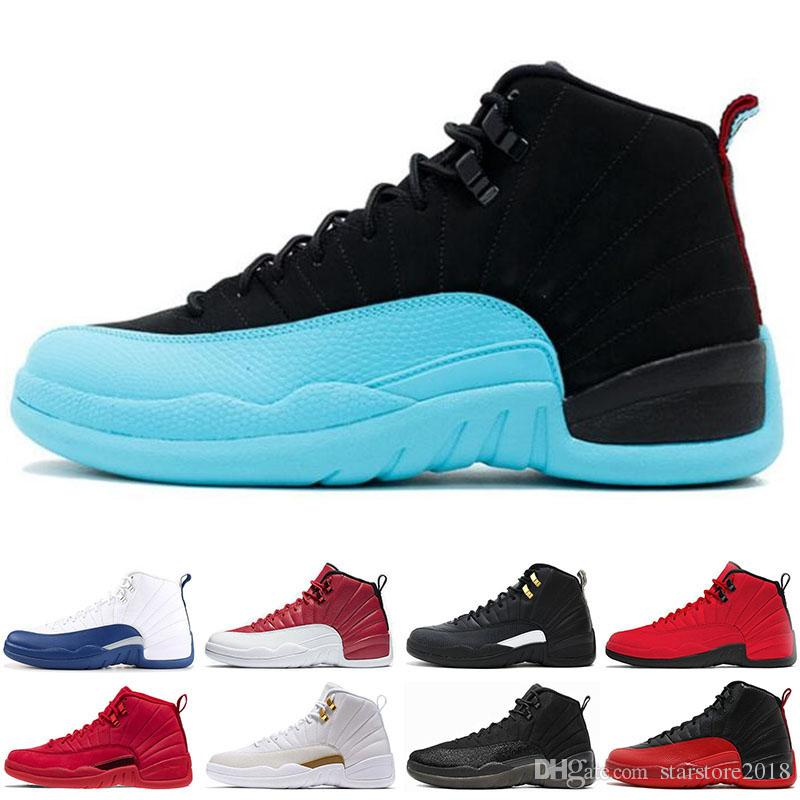 535b8a55d83062 2019 Limited 12 12s Men Basketball Shoes Sneakers Black White PLAYOFF THE  MASTER Gym Red Gamma Blue 12s Mens Sports Shoes 7 13 From Starstore2018