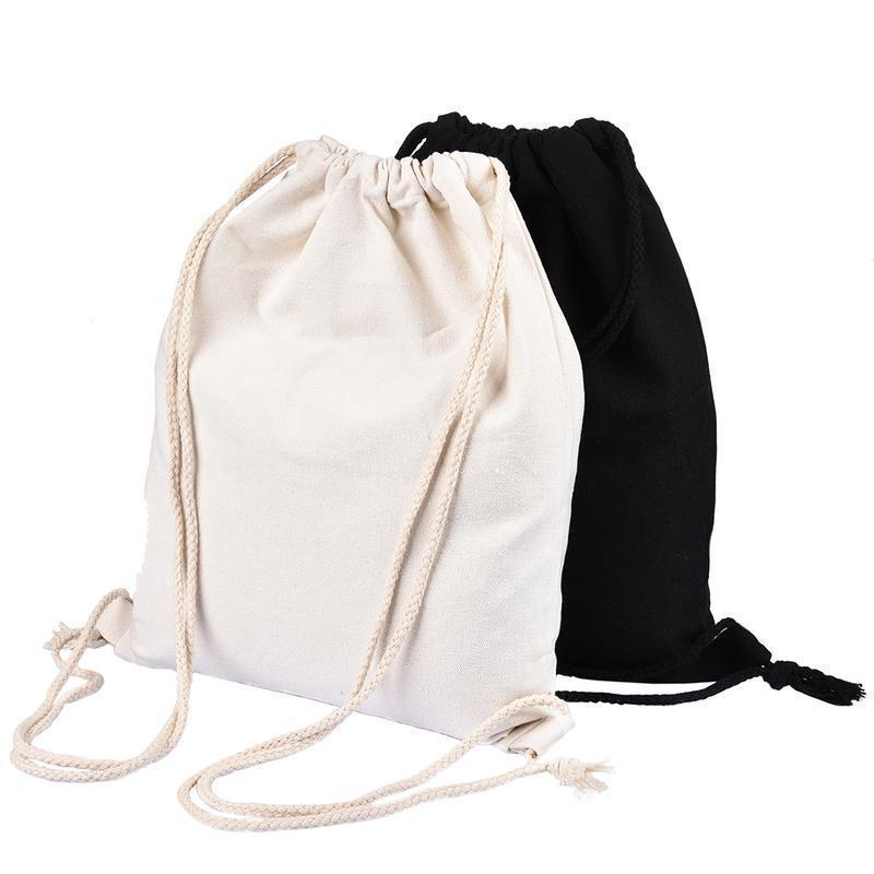 69132cf44d Drawstring Backpack Canvas Travel Shoulder Bag Candy Women Men Shoes  Clothes Gym Jewelery Gift Storage Bag Backpacks Bags Pouch Daypack  Swissgear Backpack ...