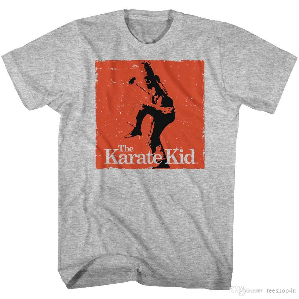 3081ad32135 Karate Kid Men S Short Sleeve T Shirt Gray Heather Karate T Shirt Men Top  Design Short Sleeve Crewneck Cotton Plus Size Group T Shirts Cute T Shirts  Nerd T ...