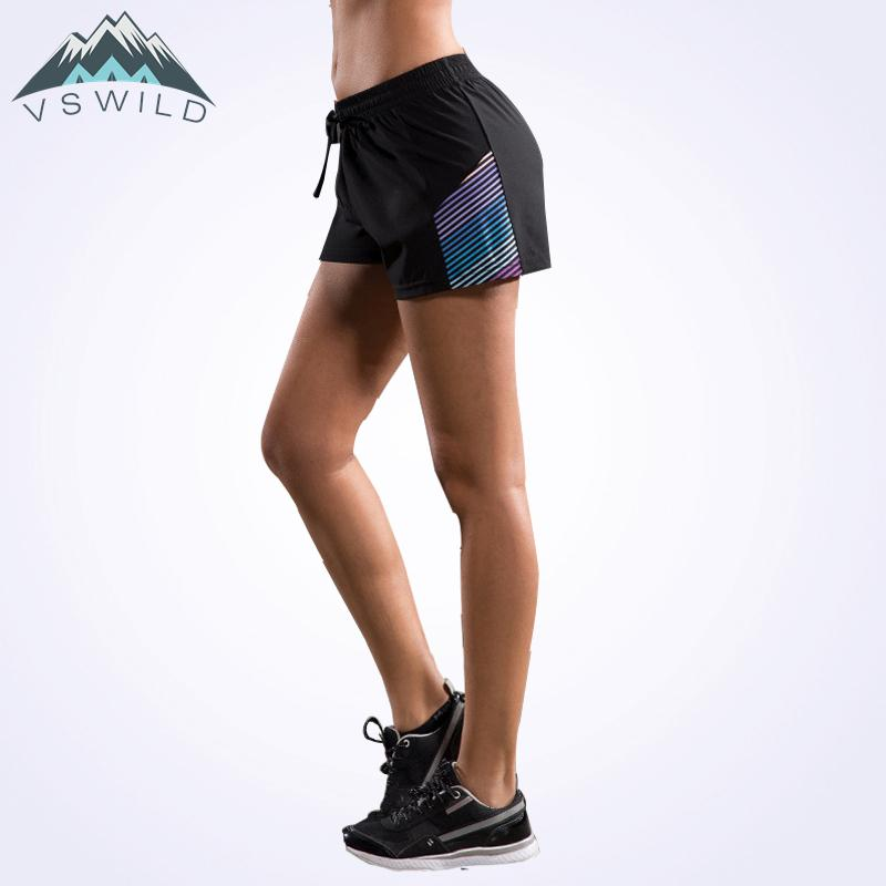 cd5e04972b 2019 Outdoor Quick Dry Breathable Short Women Running Fitness Fishing Shorts  Hiking Track And Field Colorful Stripes Short Pants From Longanguo, ...
