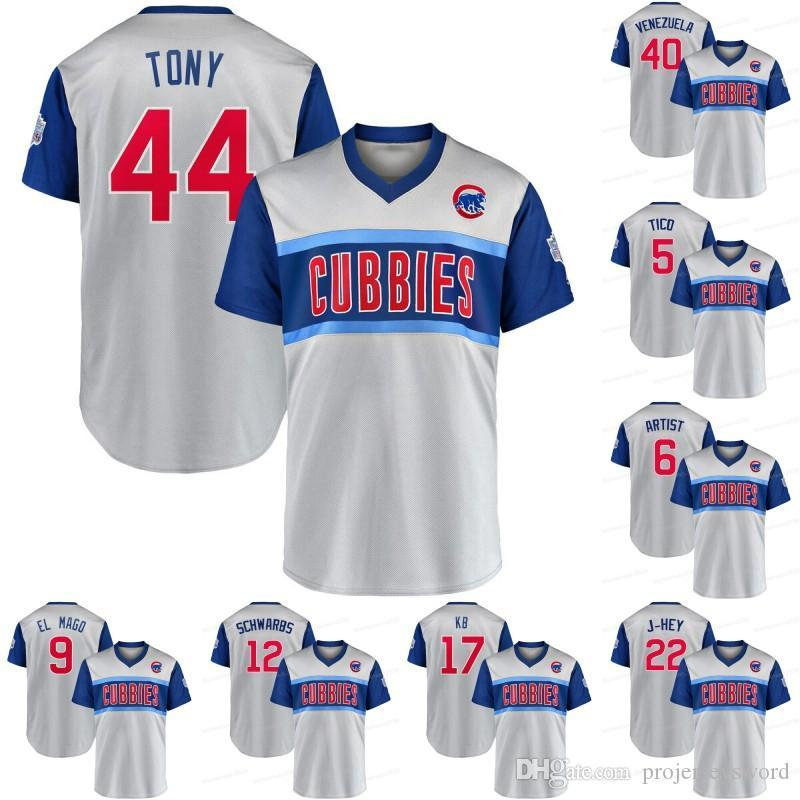Chicago 2019 Little League Classic Authentic Rizzo Tony Cubs Jersey Javier Baez Bryant KB Willson Contreras Albert Almora Jr. Jason Heyward