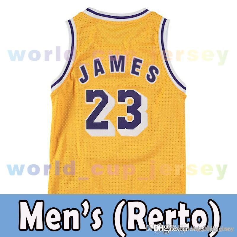 a0340b4c925 ... where to buy mesh purple 23 lebron james mesh men youth kids jersey los  angeles 2018