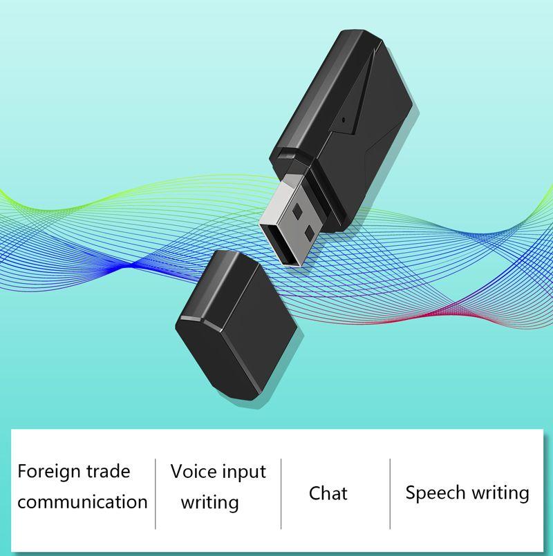 Интеллектуальные речи Переводчик U диск AI Voice Translator Смарт в реальном времени набора текста конвертер компьютера Переводчик Поддержка Multi-Language