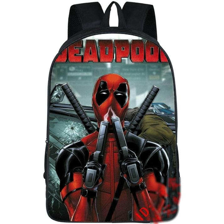 0b8aaf3a46cf After Shoot Backpack Deadpool Cool Show Day Pack Super Hero School Bag  Leisure Packsack Picture Rucksack Sport Schoolbag Outdoor Daypack Tactical  Backpack ...