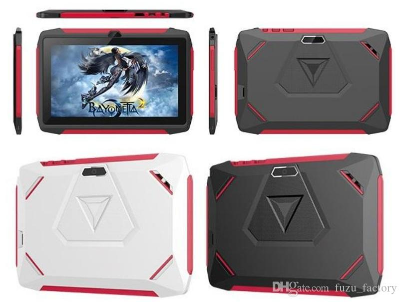 FREE DHL kid Tablet PC Q98 Quad Core 7 Inch 1024*600 HD screen Android 9.0 AllWinner A50 1GB RAM 16GB Q8 with Bluetooth wifi factory wholesa