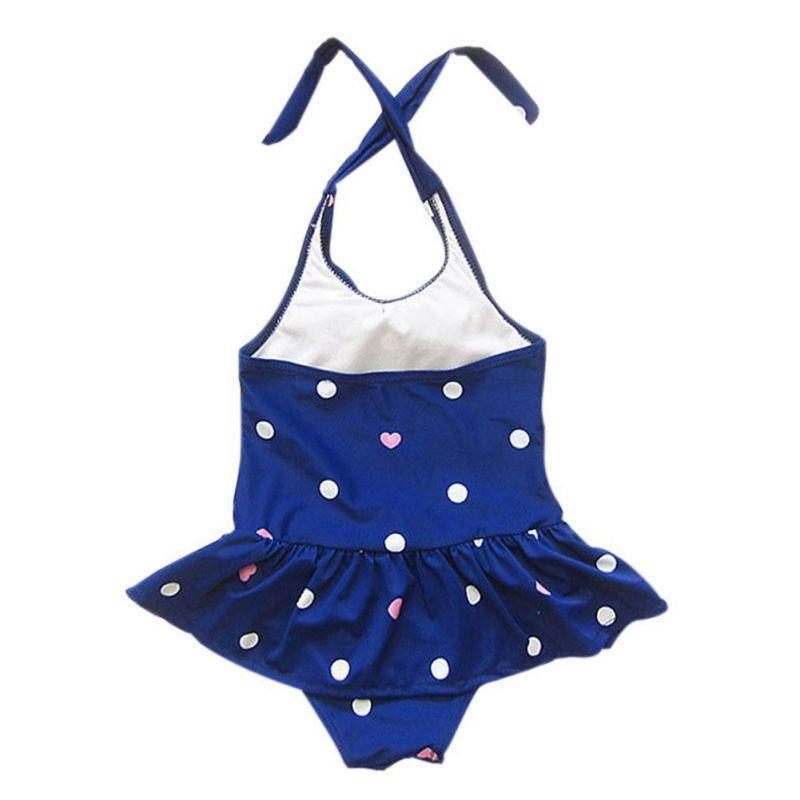 * 2018 New Baby Girls trajes de baño Sunny Eva Girl traje de baño Niños trajes de baño Ropa de playa Trajes de una pieza de baño con diadema
