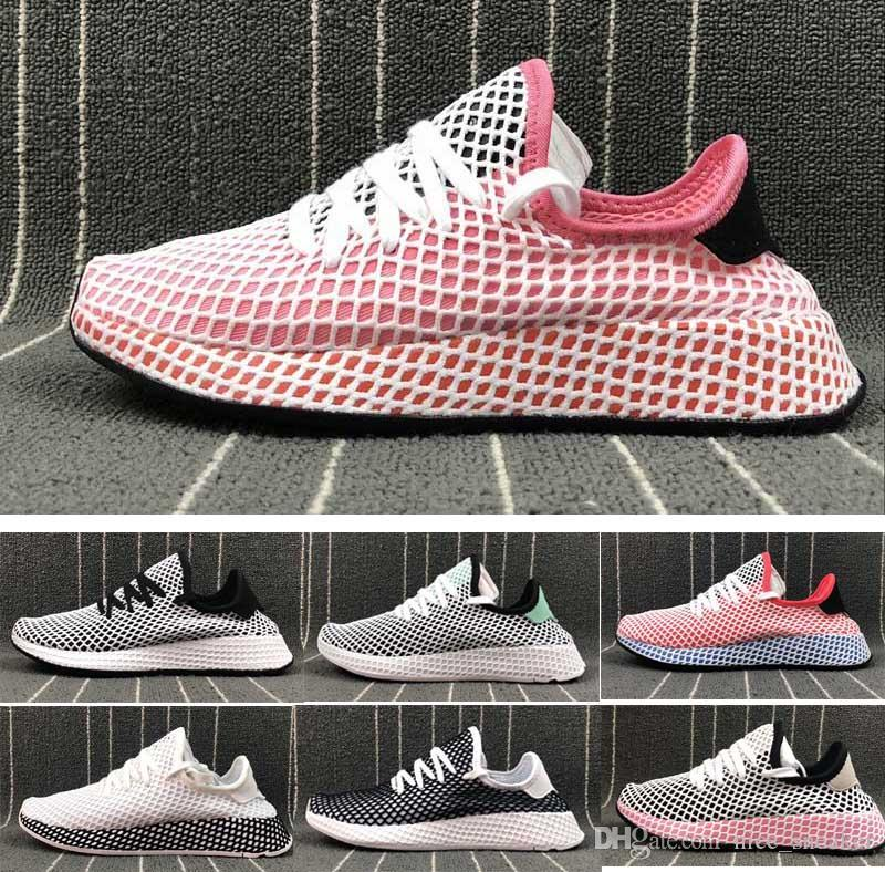 Nice Summer HUMAN RACER Deerupt run Tennis Cool Summer Mesh Pharrell trainer sport shoes for Men Women's Lover's Running sneak