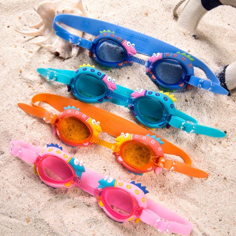 20e553627e Compre Niños De Dibujos Animados Natación Gafas Niños Gafas De Natación De  Silicona Bebé Niño Piscina Gafas Con Caja De Anteojos A $35.95 Del  Beachsandy ...