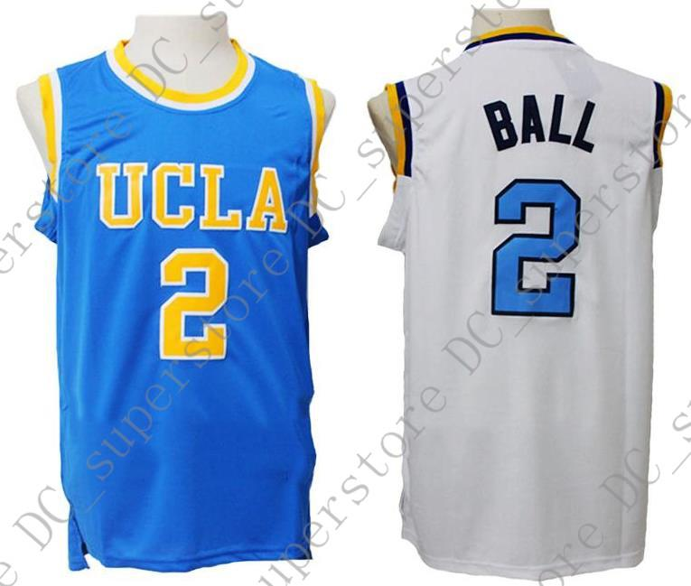 2019 Cheap Custom Lonzo Ball  2 UCLA Bruins Basketball Jerseys Blue White  Stitched Customize Any Name Number MEN WOMEN YOUTH JERSEY XS 5XL From ... e2f2c2d610