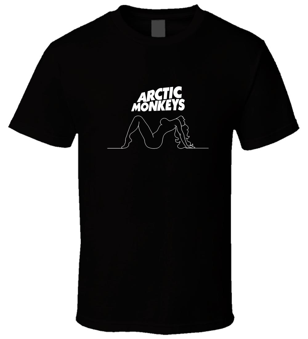 ARCTIC MONKEYS 2 Black T ShirtFunny free shipping Unisex Casual Tshirt