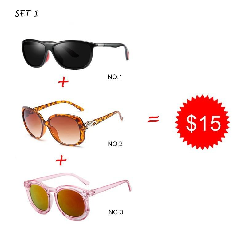 dc192b118c Trend Square Couple Sunglasses Men Polarized Glasses Elegant Women ...