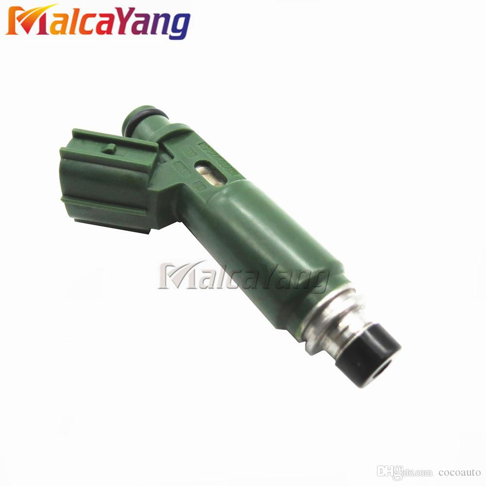 Set(4) Flow Test High Performance Fuel Injectors Nozzle for Toyota Corolla  Celica Matrix 23250-22040 23209-22040 23250-0D040 23209-0D040