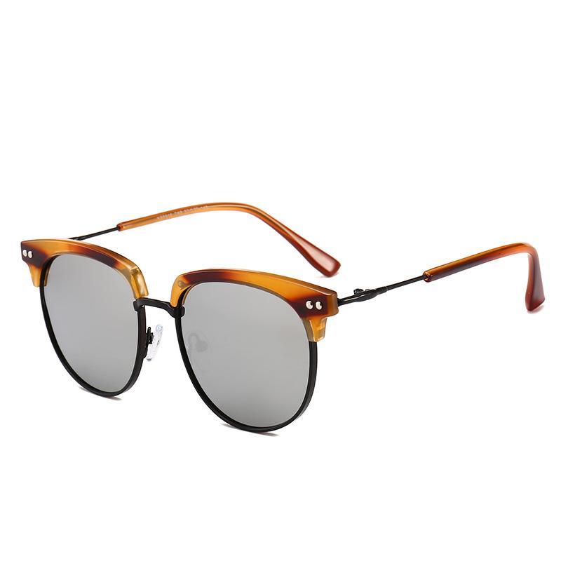 81f04bfe8d Compre 2019 Gafas De Sol Semi Sin Montura De La Marca De Lujo De Las  Mujeres Gafas Ovales De Alta Calidad De Protección UV Diseñador De Gafas  Famosas Gafas ...