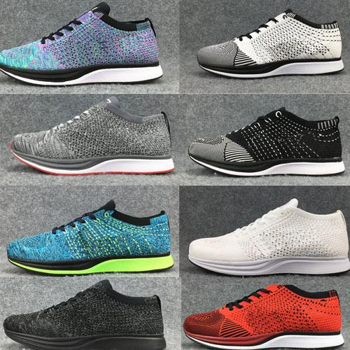 754044c96ae7a 2018 Men Women Casual⠀flyknit Blueberry Pistachio Lavender Running ...