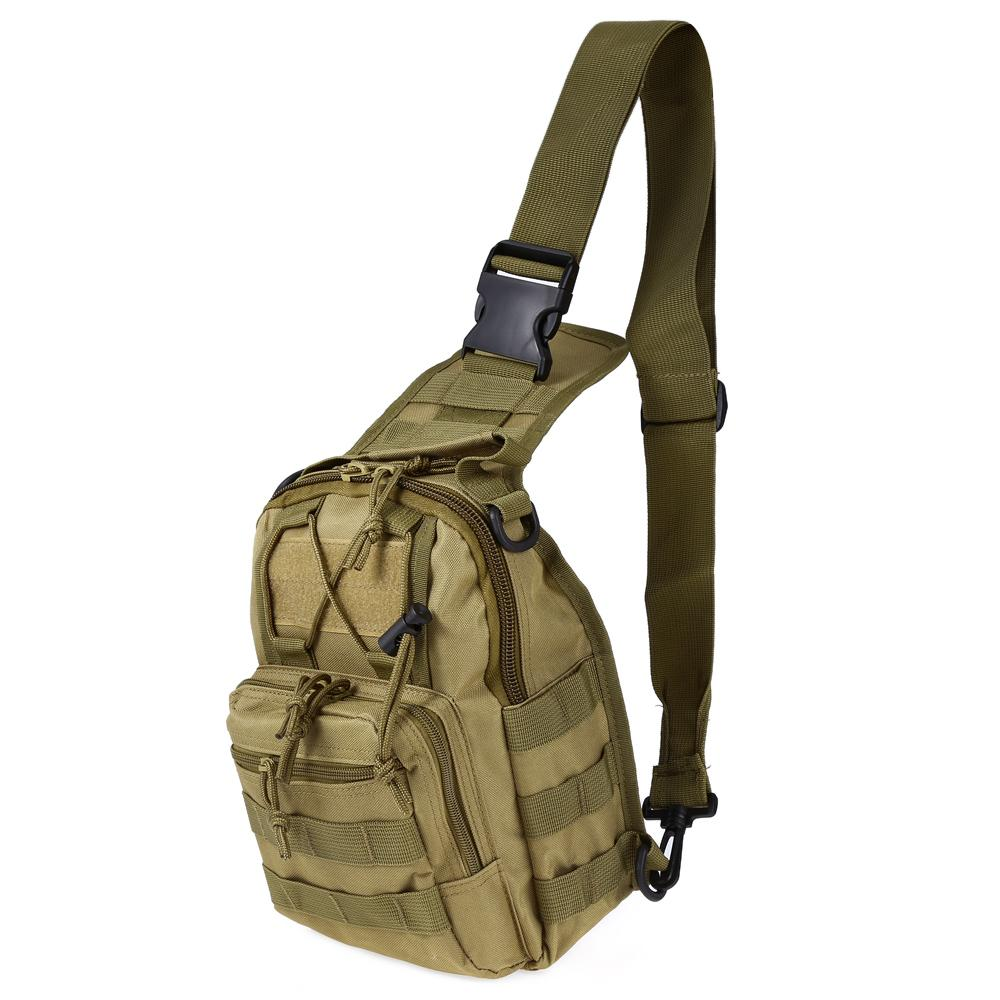 Climbing Bags Outdoor 10 Inches Nylon Waterproof Shoulder Bag Cross Body Bag Belt Sling Messenger Bags Tactical Military Camouflage Handbag Warm And Windproof