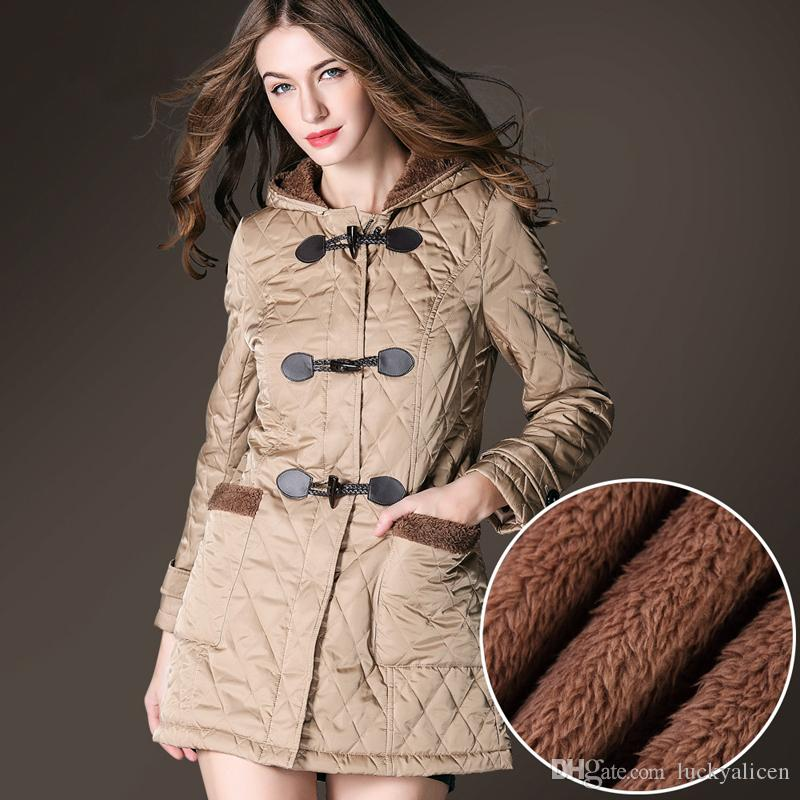 08b87e35b87c Winter Down Parkas Coat Jacket Women Fashion Slim Outerwear Thick ...