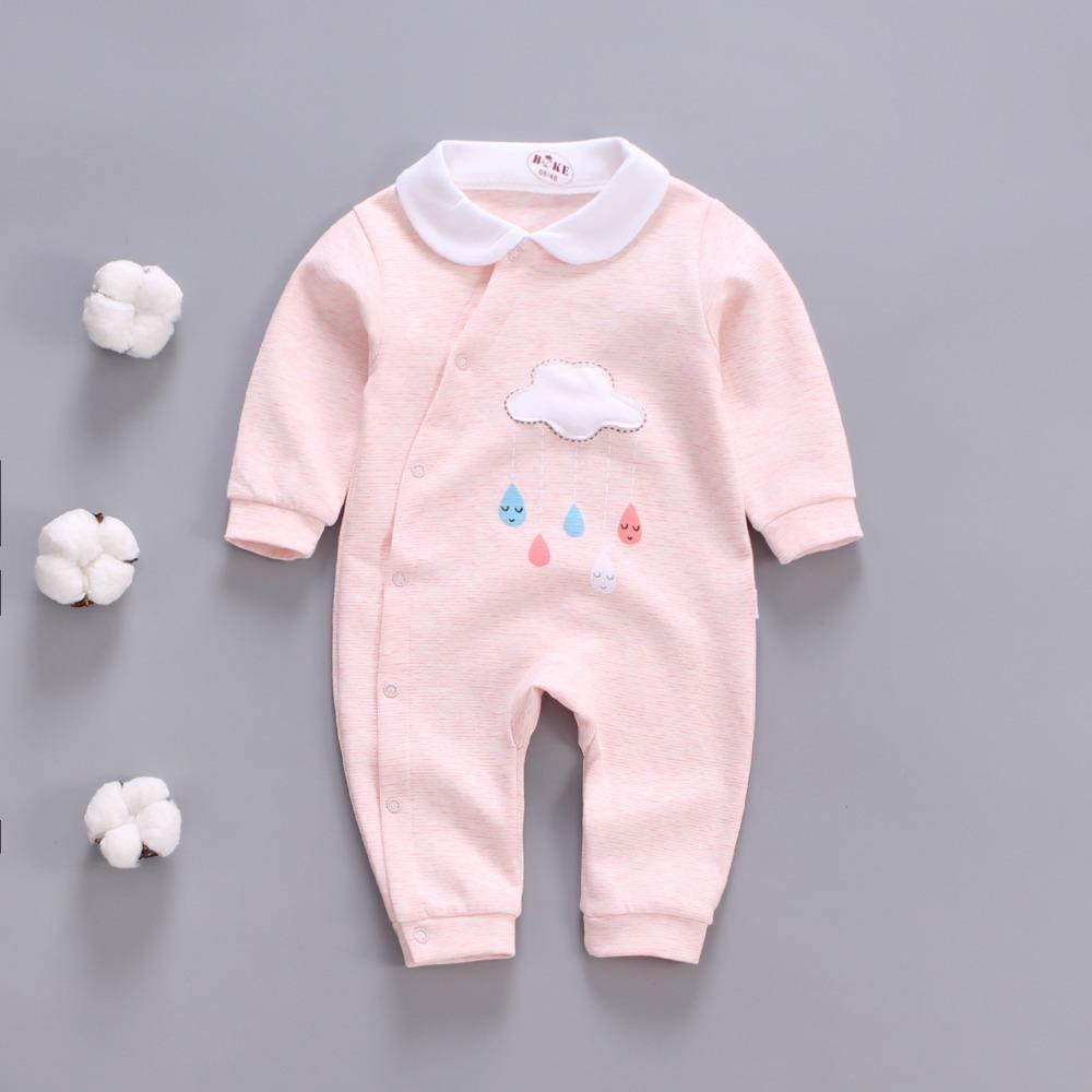 4f1aaaafce10 2019 Good Quality Baby Boys Girls Rompers 2019 New Autumn Winter ...