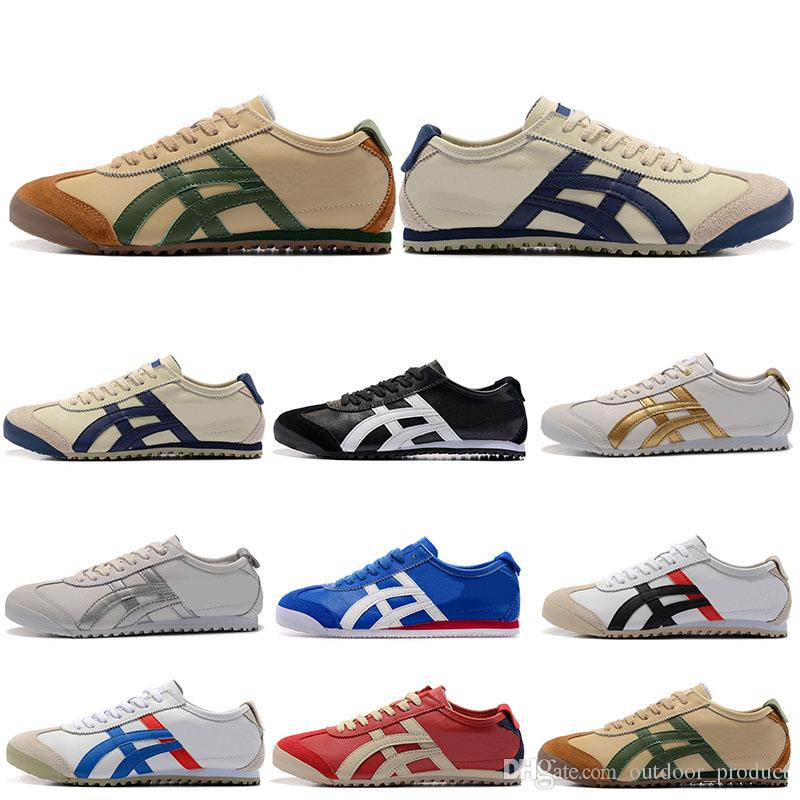 los angeles d2e3d 16895 2019 Cheap Onitsuka Tiger Men Pirate Rings Best white running shoes triple  white black red womens sports outdoor athletic shoes 36-44