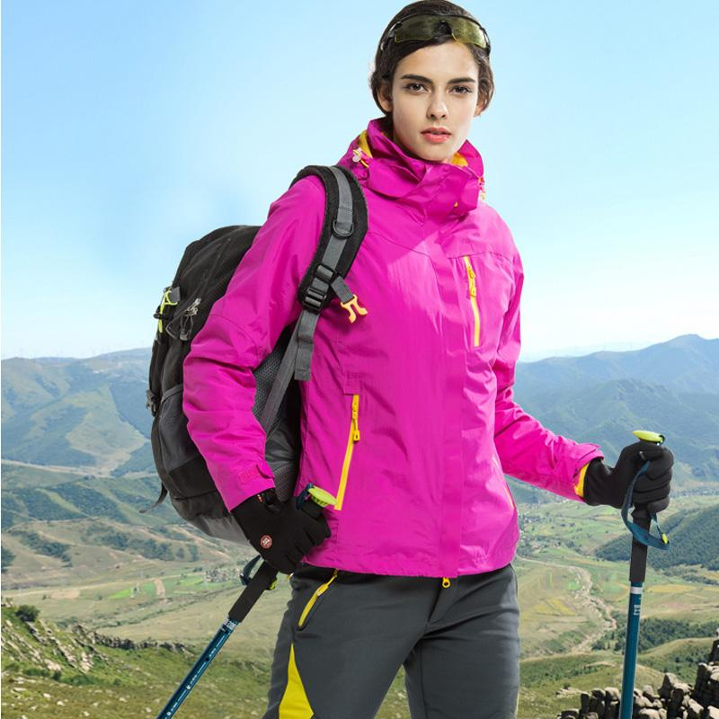 The Cheapest Price The Arctic Light Warm Winter Outdoor Rain Jacket Women Windproof Waterproof Mountaineering Climbing Camping Hiking Coat Skiing & Snowboarding Skiing Jackets