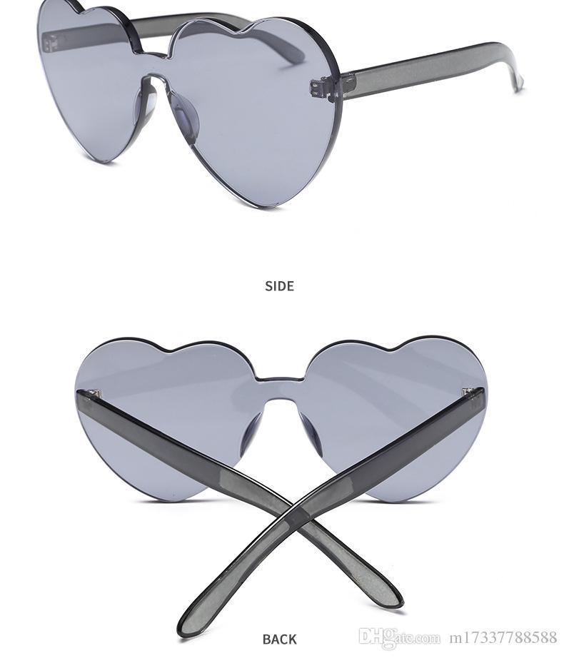 ef3448557 Compre 2019 Novos Óculos De Sol Óculos De Bijuterias E Acessórios Óculos De  Sol Coração De Pêssego De M17337788588, $7.09 | Pt.Dhgate.Com