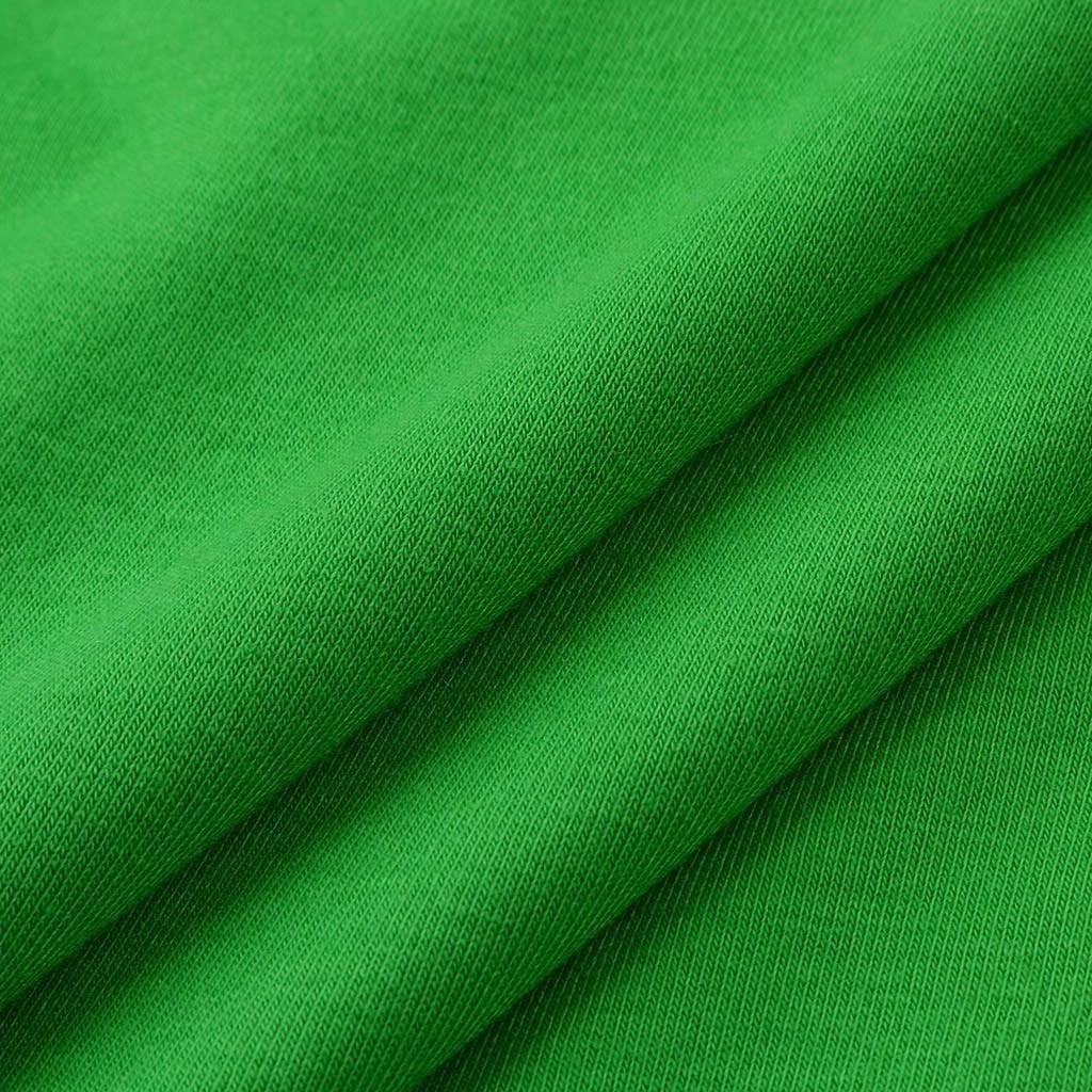 Смешные с коротким рукавом футболки мужчин 2019 повседневная мужская одежда пара День Святого Патрика печати зеленый футболка уличная топ
