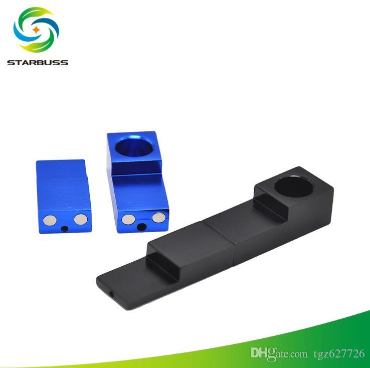 Metal magnet square pipe foldable magnet metal pipe
