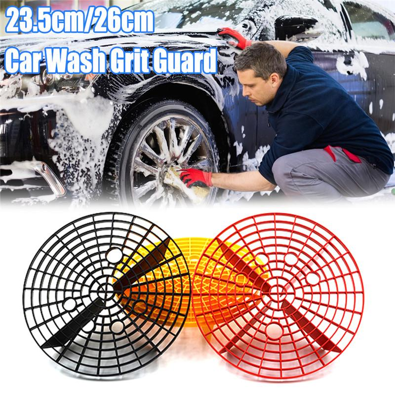 23/26cm Car Wash Grit Guard Insert Washboard Water Bucket Filter Scratch Dirt PG1 Car Cleaning Tool Accessories Auto Product