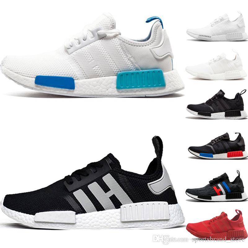 6ddc83909 New R1 Triple Black Running Shoes Triple White Red Grey Oreo OG White Women  Runner Japan Triple Black White Blue Athletics Sports Sneakers Sports Shoes  ...