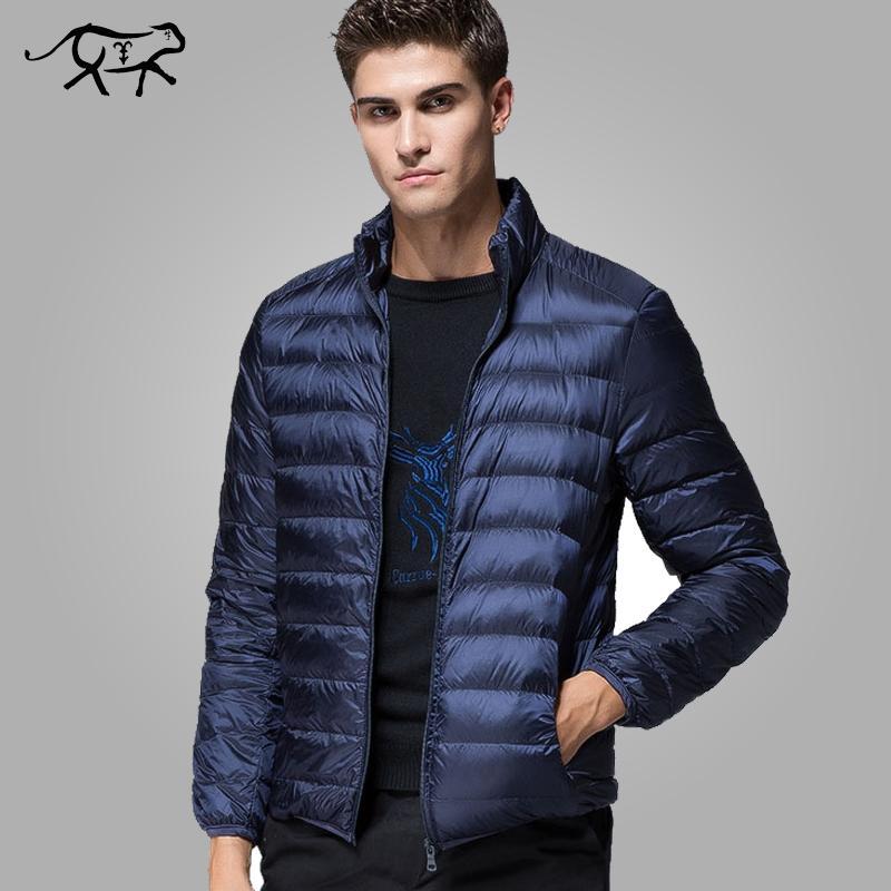 Motivated 2018 New Casual Brand White Duck Down Jacket Men Autumn Winter Warm Coat Mens Ultralight Duck Down Jacket Male Windproof Parka Down Jackets