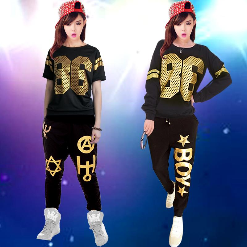 b179cd618 2019 Jazz Dance Costume Modern Dance Clothes Adult Male And Female Hip Hop  Clothes From Cravat, $33.23   DHgate.Com