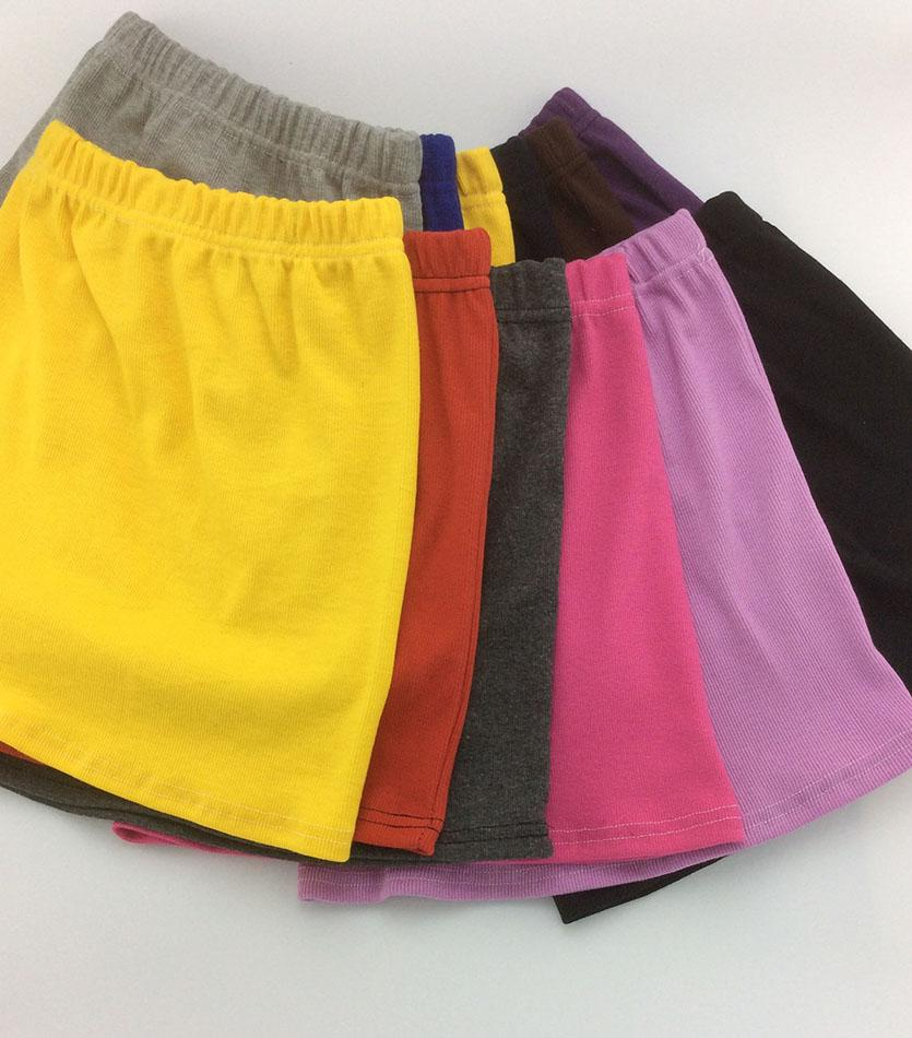 Spring and Summer Candy Colors Casual Mini Girls Skirts little girl package hip skirt Kids skirts for