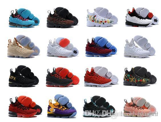 new style 7182f c0dd0 20 Colors Available 2018 New Arrive What the Lebron 15 Lebron XV EP KS2A  Orange Legend BHM Equality Basketball Shoes