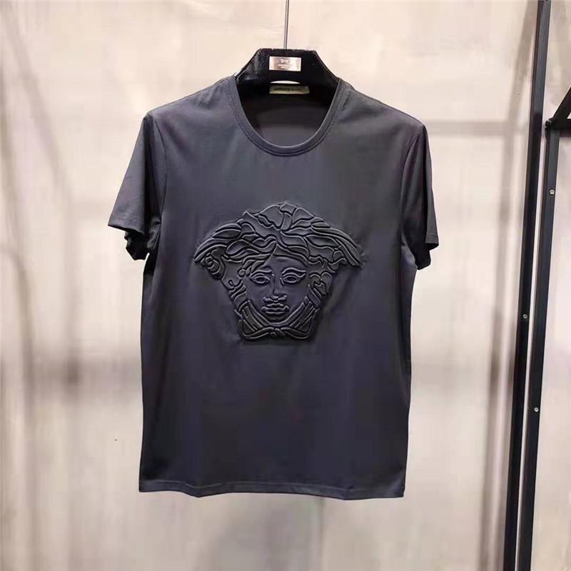 cec11f93bc7 Compre Camisetas De Diseñador Para Hombre Ropa De Hombre Camisa De ...