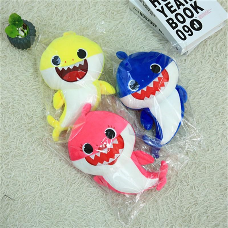 2019 New Baby Shark Plush Singing Plush Toys Music Doll English Song Toy Gift UK