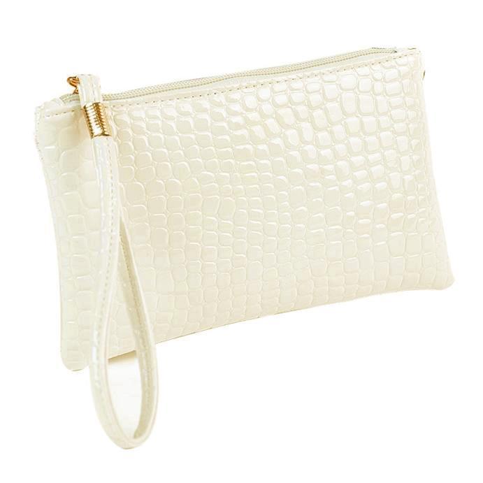 Women wallets Crocodile Leather messenger small bag Clutch evening Handbag Bags Coin Purse female Clutches Bolsas