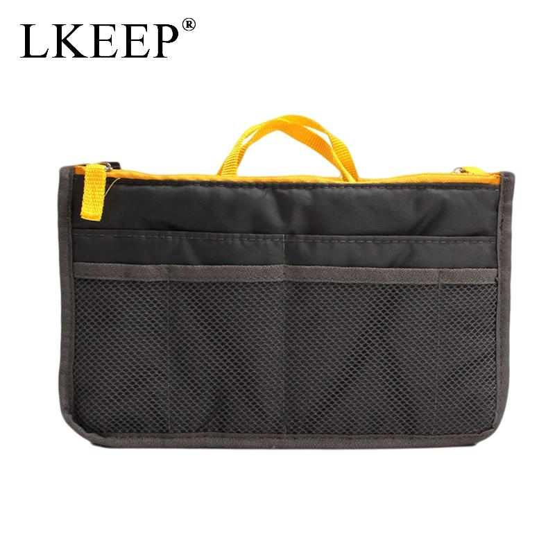 08e745a263 2019 Portable Multifunctional Canvas Travel Bags Make Up Organizer ...