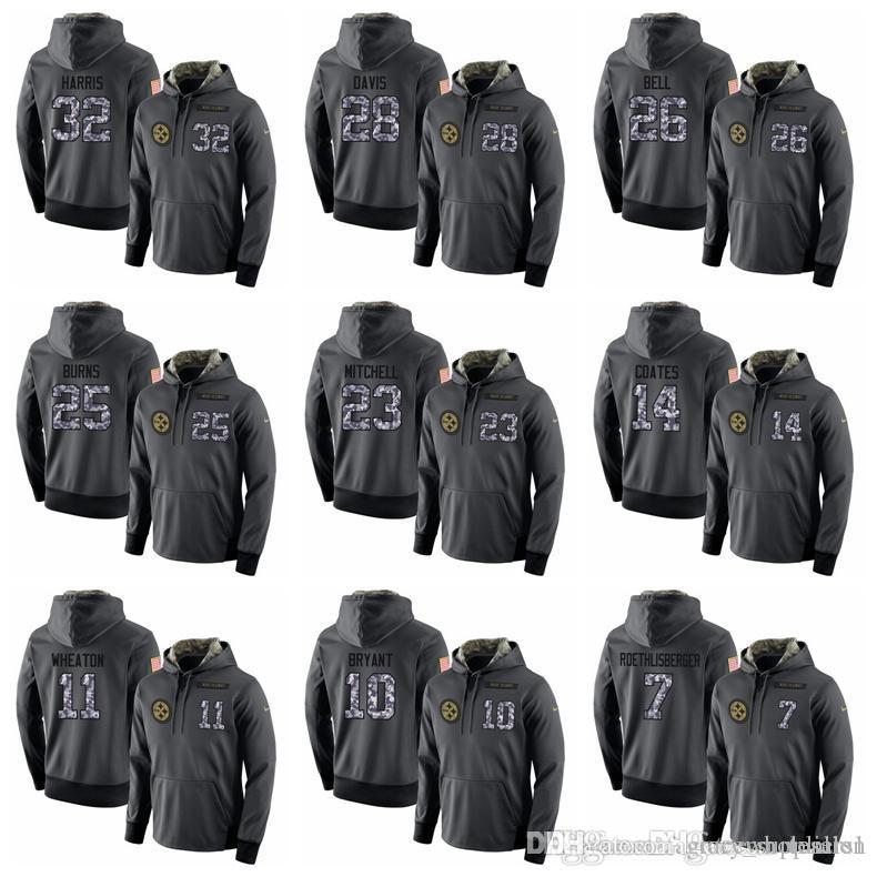 509afc14a Top Quality Hoodies Pittsburgh Steelers Sweatshirt Mens Stitched ...