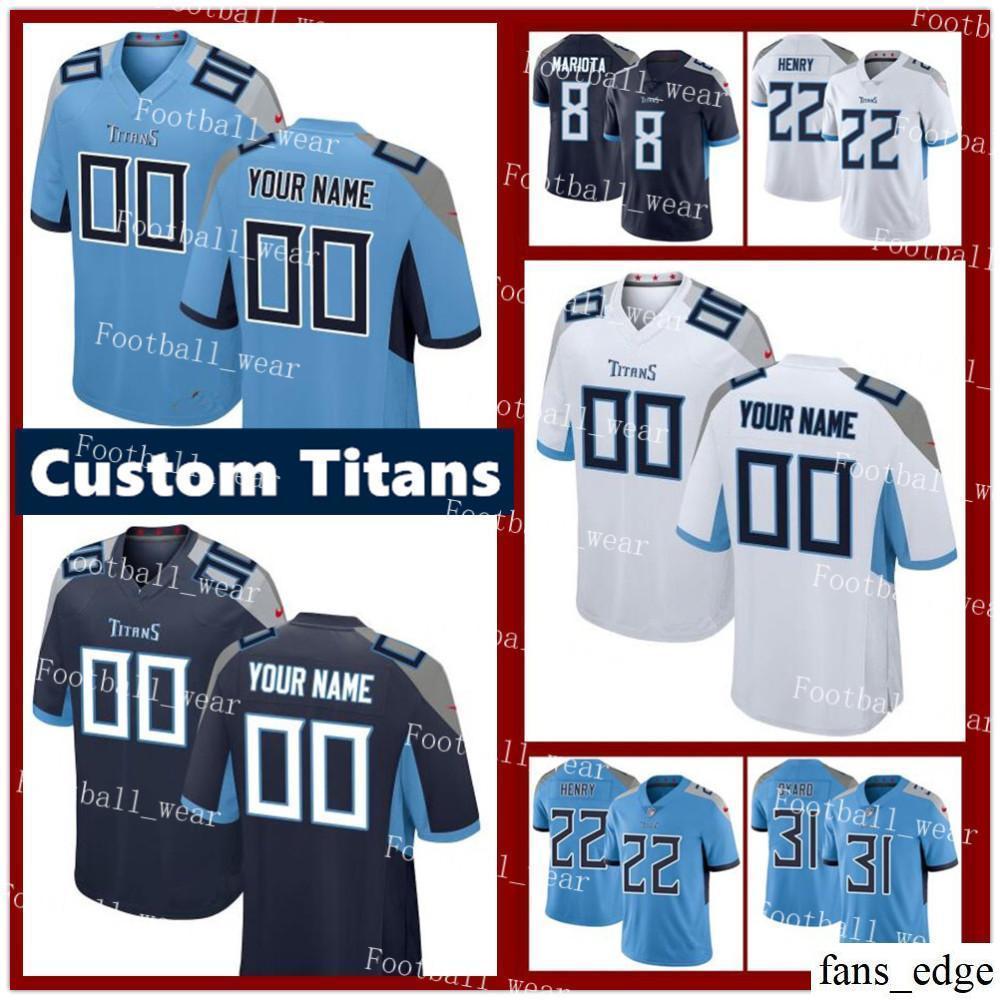 0b1b85c5 Custom Tennessee Mens Titans Jersey 84 Corey Davis 99 Jurrell Casey 82  Delanie Walker 33 Dion Lewis 55 Sharif Finch 27 Eddie George