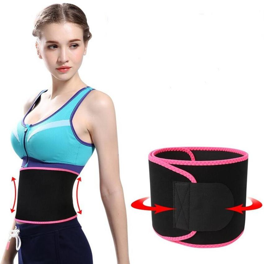 4ce361ea075 2019 Adjustable Waist Trimmer Belt Sweat Wrap Tummy Stomach Weight Loss Fat  Slimming Exercise Belly Body Beauty Waist Support LJJS150 From Ruby one