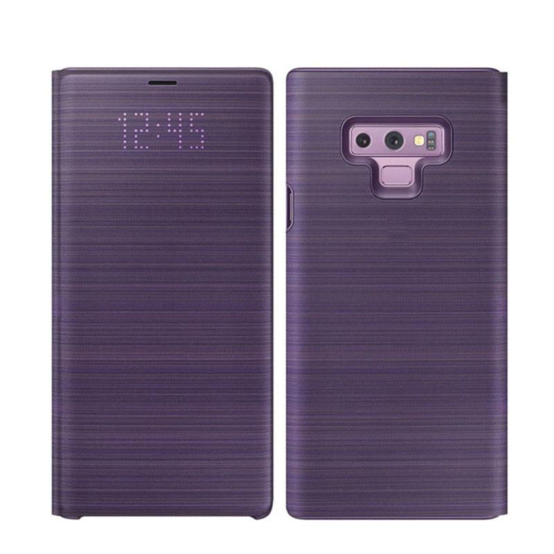 huge discount 024b2 605a6 For Samsung Galaxy Note 9 Case LED Wallet Cover 360 Cute Luxury Leather  Shockproof note9 Flip Card Pocket Holder Cover