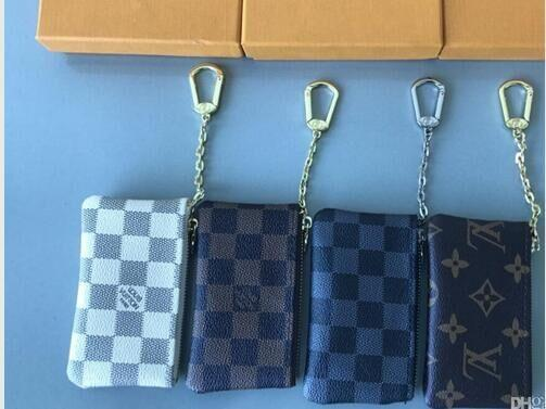 2019 KEY POUCH Damier Leather Grip With High Quality