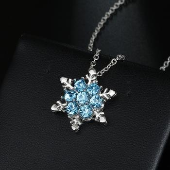Neue Mode Strand Urlaub Spa Schmuck U Kristall Kristall Dreieck Tropfen Wassertropfen Stern Mond Ketten Halskette