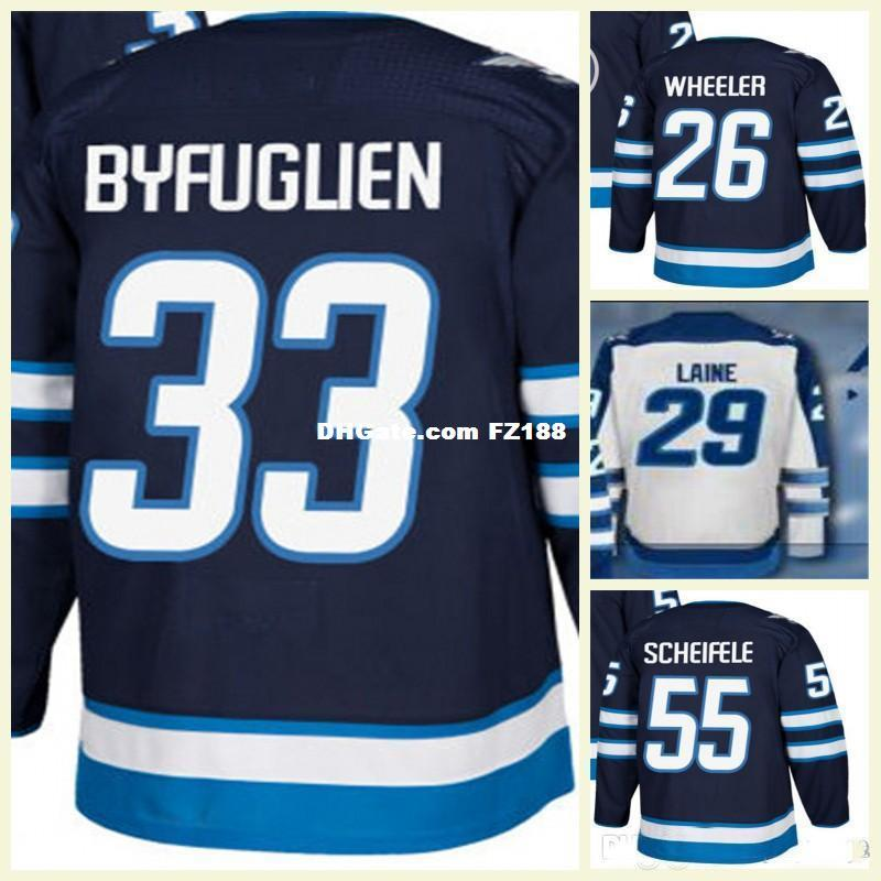 finest selection 35d59 b3961 good winnipeg jets 55 scheifele stitched white nhl jersey ...