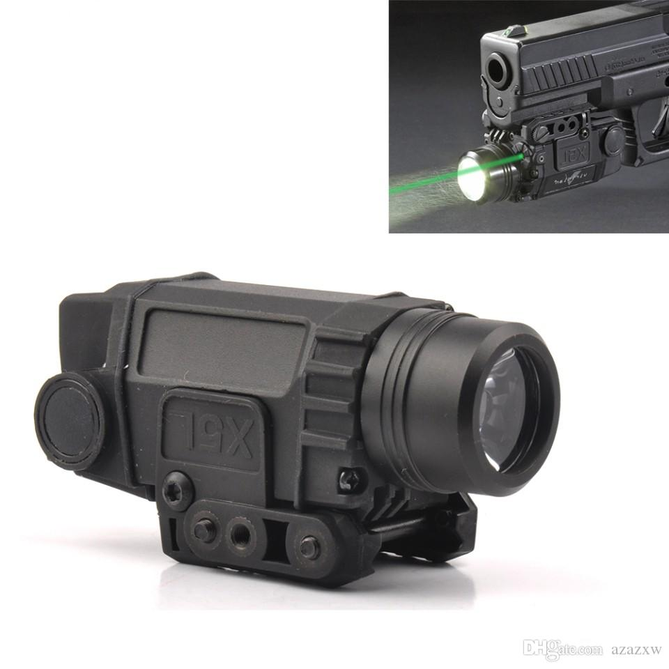 Acheter Tactical Green Laser Sight Avec Lampe De Poche Led Avec